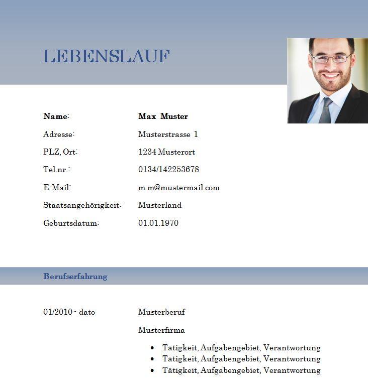 tabellarischer_Lebenslauf_blau